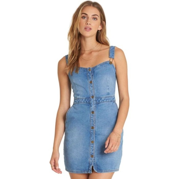6782752bc8 Billabong Women's Coastline Dance Denim Dress